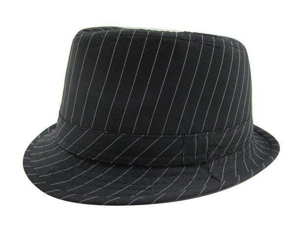 Fedora Kinder Hut Schwarz Mit Schwarzem Hutband Kinder Hut