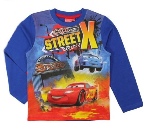 Disney Cars Lightning McQueen Langarm T-Shirt