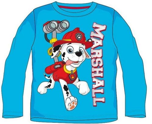 paw patrol langarm t shirt marshall ebay. Black Bedroom Furniture Sets. Home Design Ideas