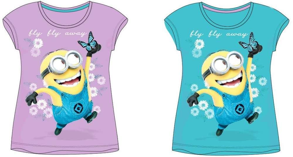 Minions Ich einfach unverbesserlich Despicable Me T-Shirt kurzarm