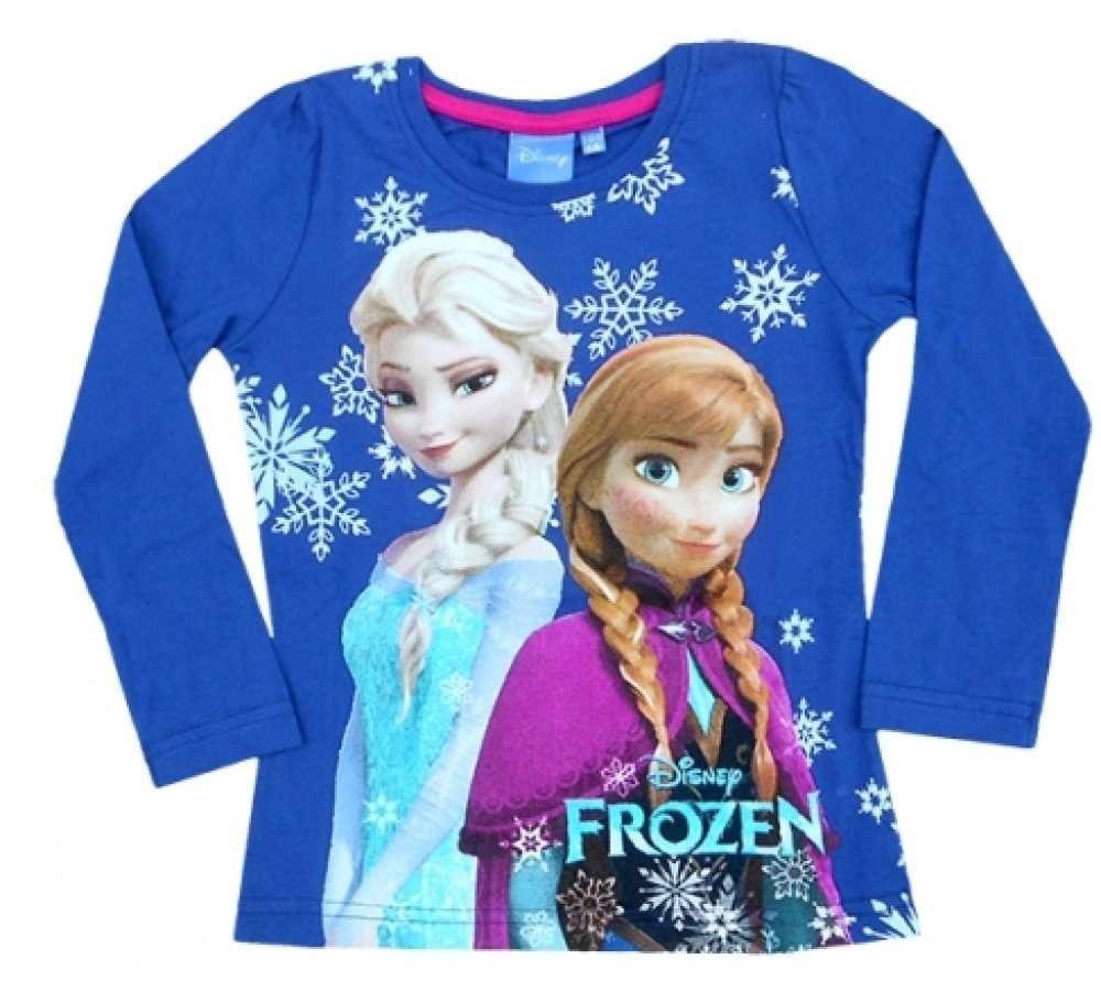 Disney die Eiskönigin Frozen Elsa Anna Langarm T Shirt